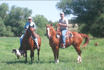 Doug & Alan Horseback