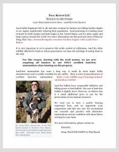 Thal Ranch Notice Hunters